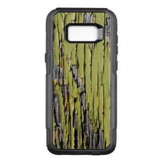 Weathered Green Barn Wood OtterBox Commuter Samsung Galaxy S8+ Case