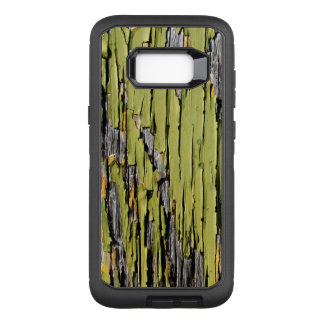 Weathered Green Barn Wood OtterBox Defender Samsung Galaxy S8+ Case