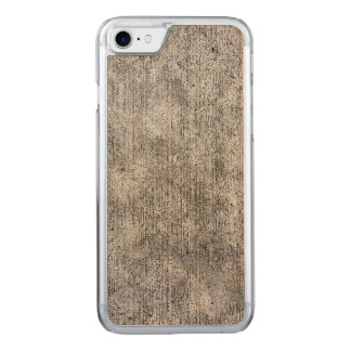 Weathered Grey Cement Sidewalk Carved iPhone 7 Case