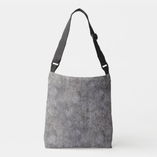Weathered Grey Cement Sidewalk Crossbody Bag