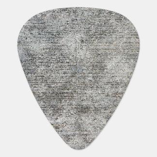 Weathered Grey Cement Sidewalk Guitar Pick