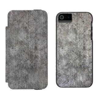 Weathered Grey Cement Sidewalk Incipio Watson™ iPhone 5 Wallet Case