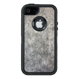 Weathered Grey Cement Sidewalk OtterBox iPhone 5/5s/SE Case