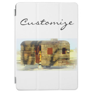 Weathered gypsy caravan Thunder_Cove any color iPad Air Cover