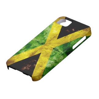 Weathered Jamaica Flag iPhone 5 Covers