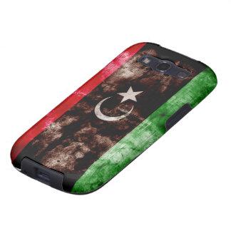 Weathered Libya Flag Samsung Galaxy SIII Covers