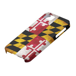 Weathered Maryland Flag Barely There iPhone 5 Case
