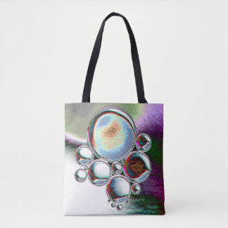 Weathered Metallic Spheres Tote Bag