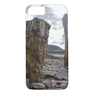 Weathered Net Posts by Loch Kishorn Phone Cover