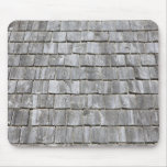 Weathered old roofing tiles mouse pad