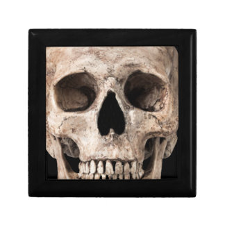 Weathered Old Skull Gift Box