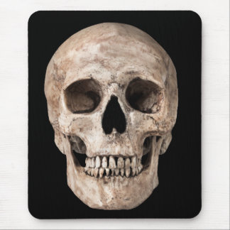 Weathered Old Skull Mouse Pad