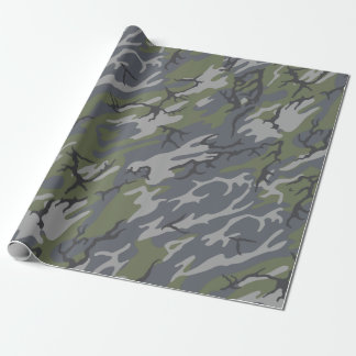 Weathered Outcrop Camo Wrapping Paper