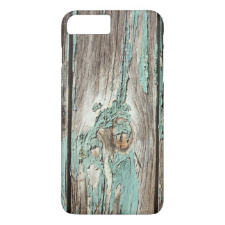 Weathered Peeling Teal Board iPhone 8 Plus/7 Plus Case