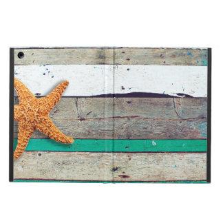 Weathered plank beach rustic seashore iPad air cover
