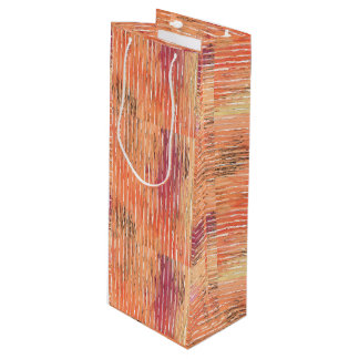 Weathered Reed Blinds wine gift bag