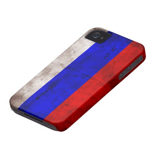 Weathered Russia Flag Blackberry Bold Case