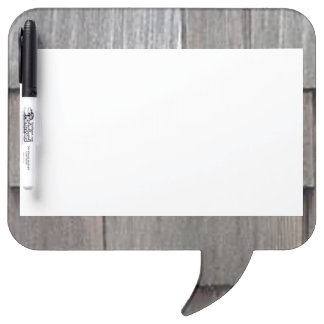 Weathered Shingles Dry Erase Board