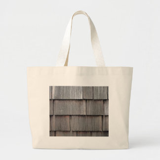 Weathered Shingles Large Tote Bag