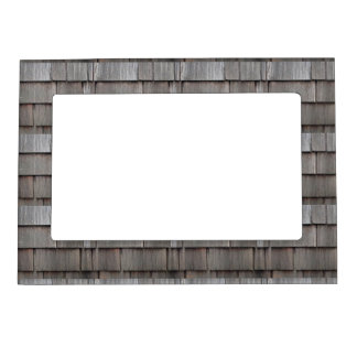 Weathered Shingles Magnetic Picture Frame