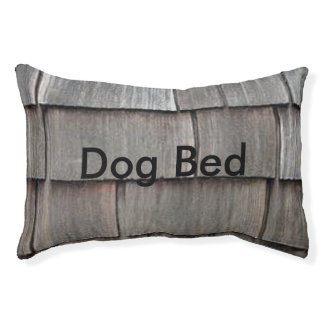 Weathered Shingles Pet Bed