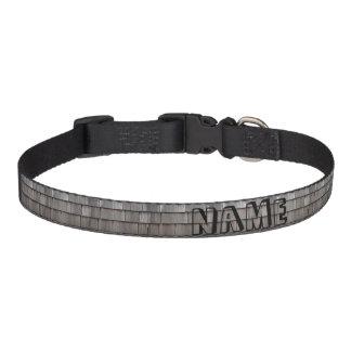 Weathered Shingles Pet Collar
