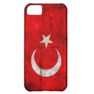 Weathered Turkey Flag iPhone 5C Case