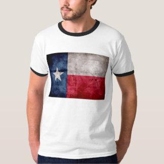 Weathered Vintage Texas State Flag Tshirt