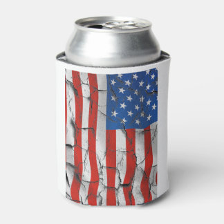 Weathered With Respect July 4th Beverage Can Coole Can Cooler