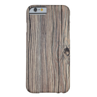 Weathered Wood Background - Customized Barely There iPhone 6 Case
