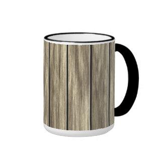 Weathered Wood Board Pattern Mug
