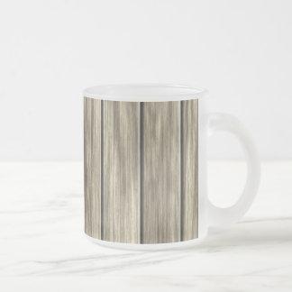 Weathered Wood Board Pattern Mugs