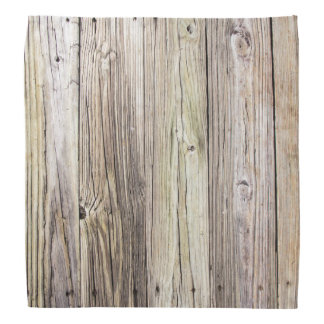 Weathered Wood Boards with Rustic Appeal Bandannas