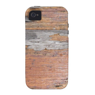 Weathered wood vibe iPhone 4 cases