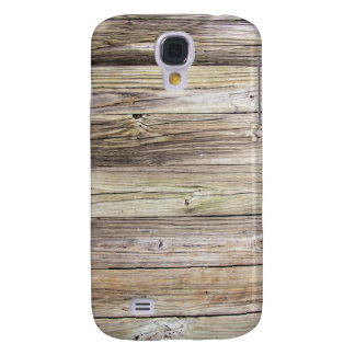 Weathered Wood from Rustic Old Country Dock Samsung Galaxy S4 Cover