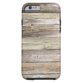 Weathered Wood from Rustic Old Country Dock Tough iPhone 6 Case