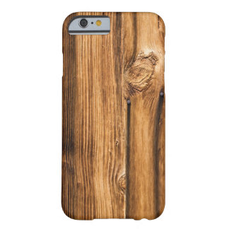 Weathered Wood Grain Barely There iPhone 6 Case