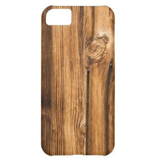 Weathered Wood Grain iPhone 5C Case