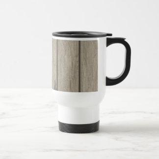 Weathered Wood Grain Pattern Mugs