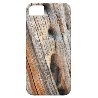 Weathered wood iPhone 5 case