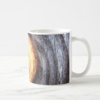 Weathered Wood Knot Coffee Mug