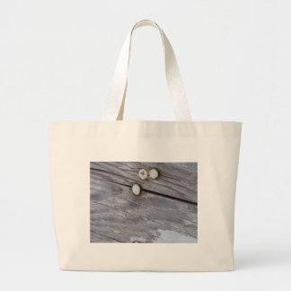 Weathered Wood Large Tote Bag