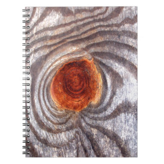 Weathered Wood Note Book