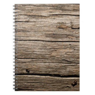 WEATHERED WOOD NOTEBOOK