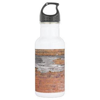 Weathered wood 18oz water bottle