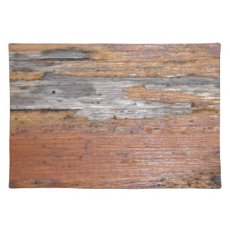 Weathered wood place mats