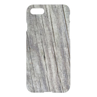 Weathered Wood Planks Texture Pattern iPhone 7 Case