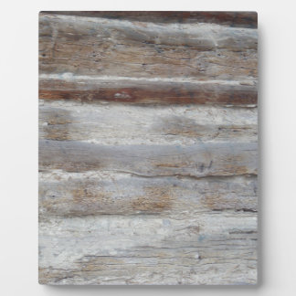 Weathered Wood Plaques