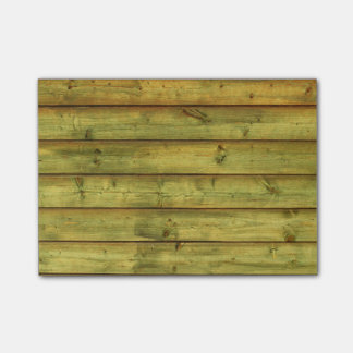 Weathered Wood Post-it® Notes