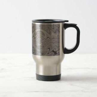 weathered wood ripple coffee mugs